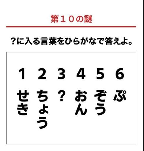 【第10の謎】スーパーポイントスクリーン謎解き